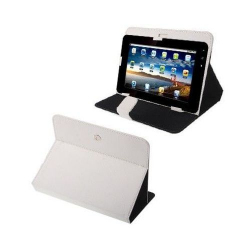 Housse universelle tablette tactile 9 pouces support 360° étui Blanc - www.yonis-shop.com