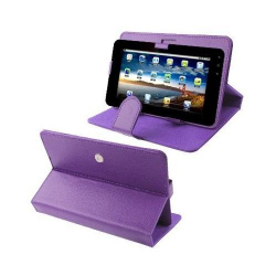 Housse universelle tablette tactile 9 pouces support étui Violet