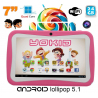 Tablette tactile enfant YOKID quad core 7 pouces Android 5.1 Rose 24Go - www.yonis-shop.com