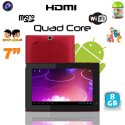 Tablette tactile Android 4.1 7 pouces Quad Core éducative WIFI 8 Go - www.yonis-shop.com