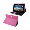 Housse universelle tablette tactile 9.7 pouces support étui Rose - www.yonis-shop.com