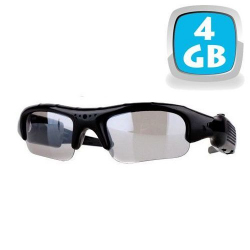 Lunettes camera espion mini appareil photo caché USB Micro SD 4 Go - www.yonis-shop.com