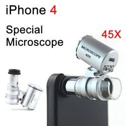Microscope pour iPhone zoom 45X - www.yonis-shop.com