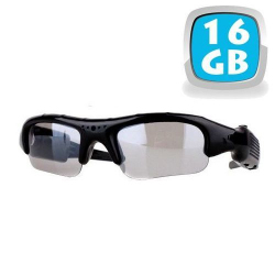 Lunettes camera espion mini appareil photo USB Micro SD 16 Go - www.yonis-shop.com