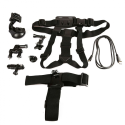 Kit accessoire GoPro Hero support 6 en 1 multi fixations sport - www.yonis-shop.com