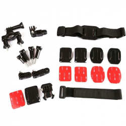 Kit accessoire GoPro Hero support 7 en 1 multi fixations sport - www.yonis-shop.com