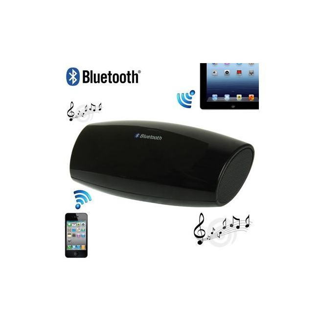 Enceinte Bluetooth universelle portable noir - www.yonis-shop.com