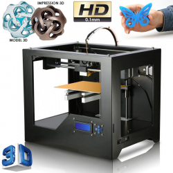 Imprimante 3D Windows 8 7 XP MAC OS impression HD 0.1mm en PLA ou ABS - www.yonis-shop.com
