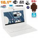 Mini PC Android 4.2 Netbook Ultra portable 10 pouces WiFi 8Go Blanc - www.yonis-shop.com