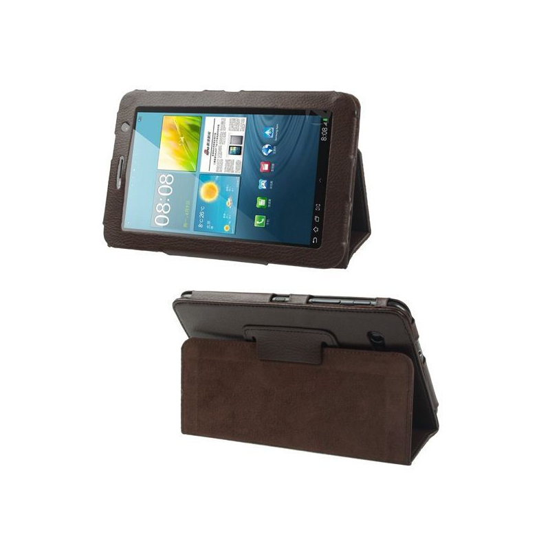 housse samsung galaxy tab 2 gt p3100 233 tui 7 pouces support marron