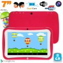 Tablette tactile enfant éducative 7 pouces Android 4.2.2 rose 8Go - www.yonis-shop.com