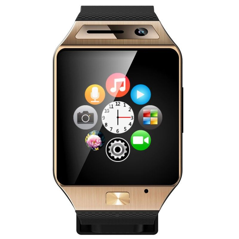 smartwatch bluetooth appareil photo montre t l phone. Black Bedroom Furniture Sets. Home Design Ideas
