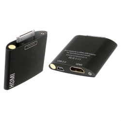 Adaptateur dock HDMI USB iPhone iPad iPod touch 4 - www.yonis-shop.com