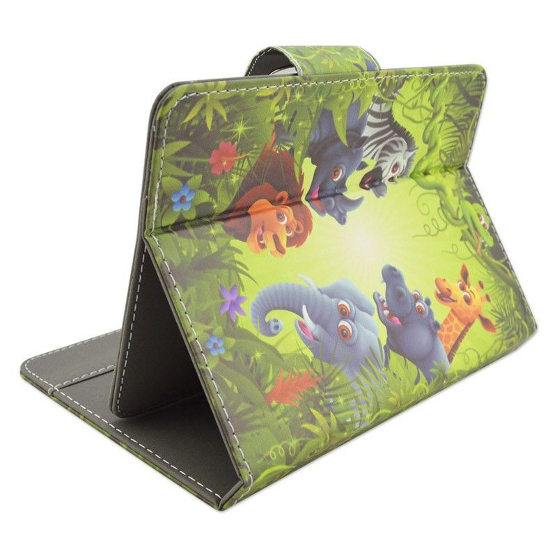Housse universelle tablette tactile 10 pouces animaux savane for Housse universelle