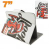Housse universelle tablette 7 pouces support design rock and roll - www.yonis-shop.com