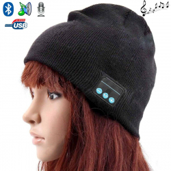 Bonnet Bluetooth ecouteurs bonnet audio microphone iPhone smartphone - www.yonis-shop.com