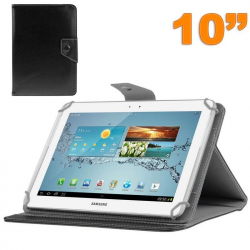 Housse universelle tablette 10 pouces ajustable 10.1'' support Noir - www.yonis-shop.com
