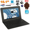 Mini PC Android ultra portable netbook 10 pouces WiFi 12 Go Noir - www.yonis-shop.com