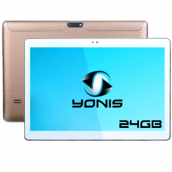 Tablette 10 pouces 3G Android 5.1 Lollipop Dual SIM Quad Core 16Go Or - www.yonis-shop.com