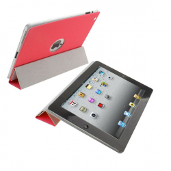 Smart cover new iPad 3 sticker rouge - www.yonis-shop.com