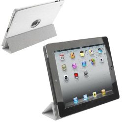 Smart cover new iPad 4 retina housse coque sticker blanc