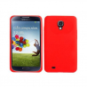 Housse Samsung Galaxy S4 I9500 coque silicone Rouge 5 pouces - www.yonis-shop.com