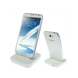 Dock de synchronisation Samsung Galaxy Note 2 et Note chargeur Blanc