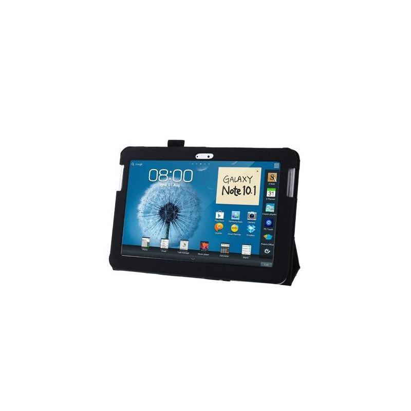 housse samsung galaxy note n8000 233 tui 10 1 pouces support noir
