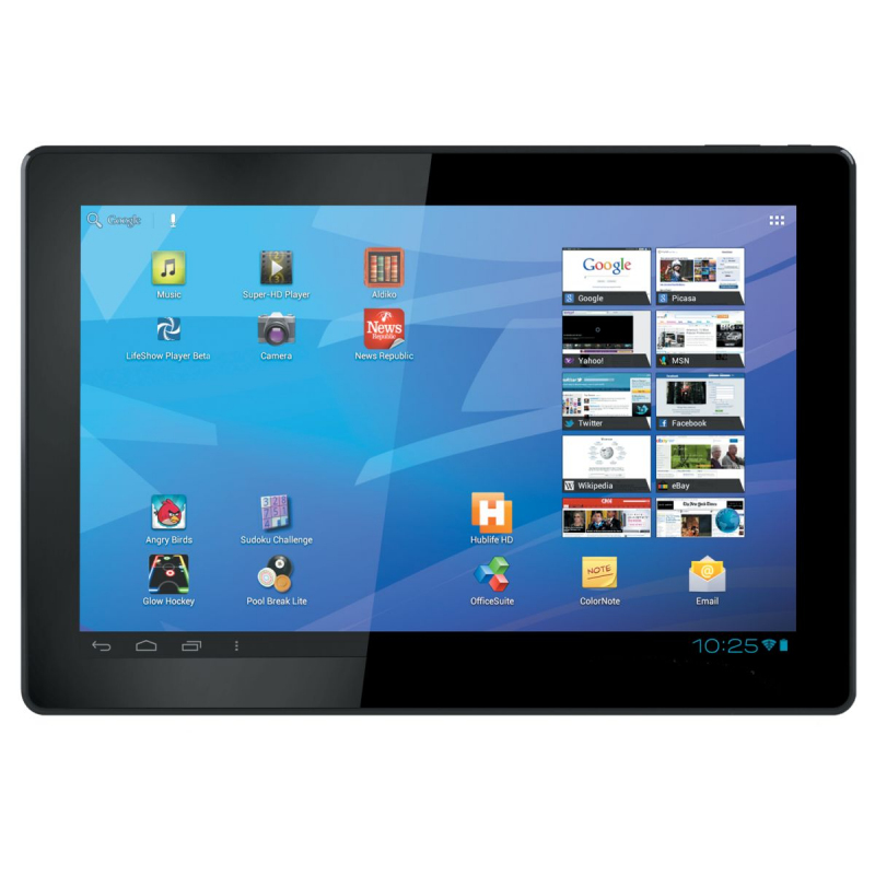 Tablette 10 pouces android 4 4 quad core gps hdmi - Tablette tactile 10 pouces ...