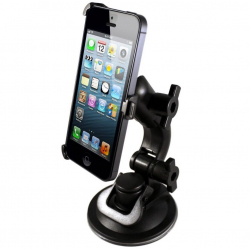 Support voiture holder auto iPhone 5 rotatif 360°