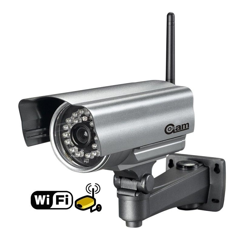Cam ra ip wifi ext rieur iphone ipad android vision for Camera exterieur wifi