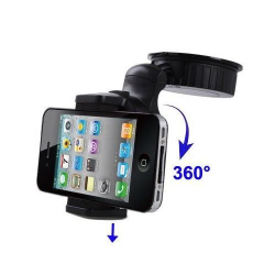 Support voiture iPhone 5 4S 4 3GS 3G smartphone téléphone holder auto